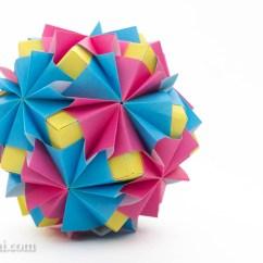 Soccer Ball Modular Origami Diagram John Deere Wiring Waltz Sonobe By Maria Sinayskaya  Go