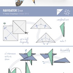 Origami Paper Crane Diagram Engine Wiring Harness Navigator Star By Maria Sinayskaya  Go