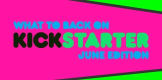 kickstarter monthly june