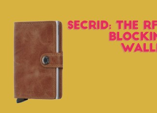 secrid rfid blocking cardslide wallet