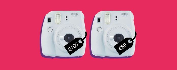 cheaper fujifilm instax mini 9