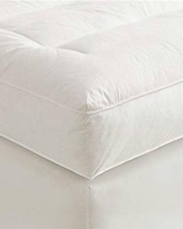 5 Queen Goose Down Mattress Topper Featherbed Feather Bed Baffled