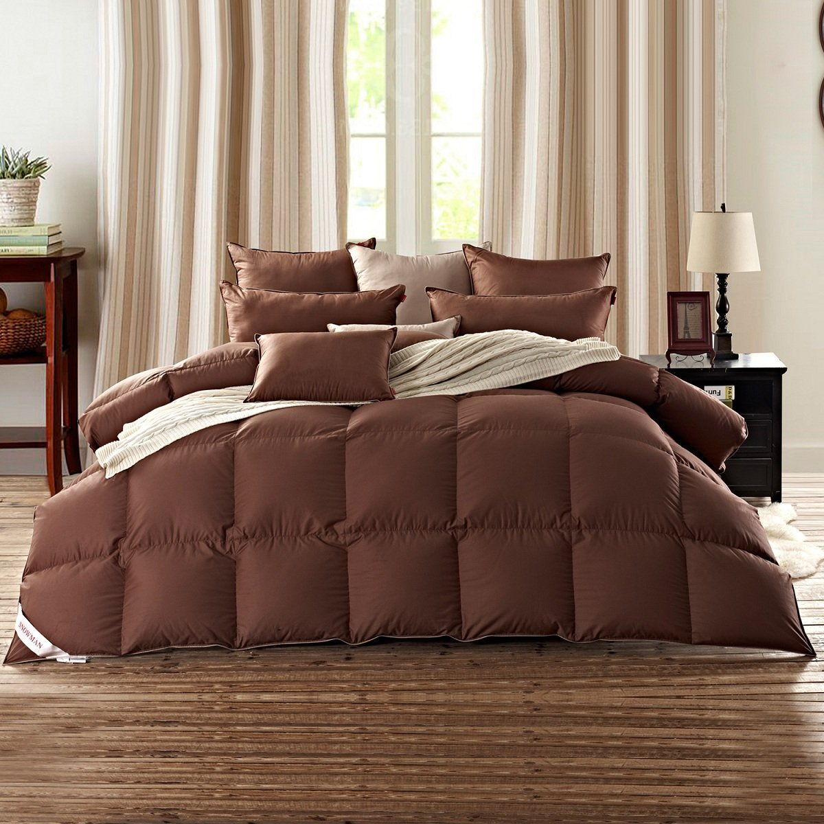 4 cheap brown down comforters best