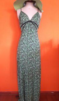 Vintage hele lange jurk Amisu maat S,Goosvintage
