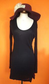 Vintage zwarte jurk/tuniek King Louie maat M,Goosvintage
