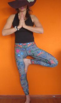 yoga legging YogaDemocracy Cabaret,Goosvintage