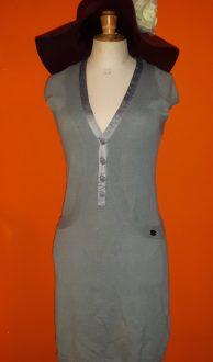 Vintage grijs jurkje S12 Capsize maat S,Goosvintage