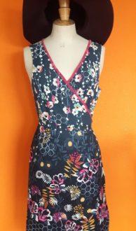 Vintage jurk UTTAM LONDON maat M/L,Goosvintage