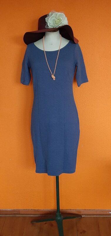 Vintage blauw paarse jurk Kyra & Ko maat S/M,Goosvintage