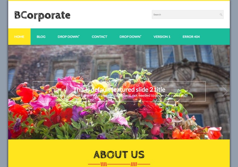 BCorporate Blogger Template. BCorporate Blogger Template 2015 premium blogger templates
