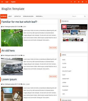 Login Support Blogger Templates