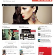 Bright Mag Responsive Blogger Templates