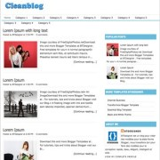 Cleanblog Blogger Templates