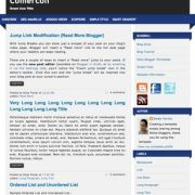 Comercon Blogger Templates