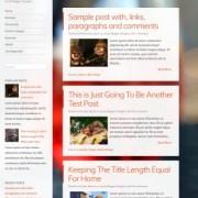 Confit Responsive Blogger Templates