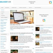 Delivery Lite Responsive Blogger Templates