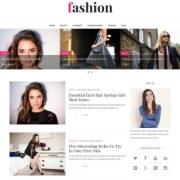 Fashion Clean Blogger Templates