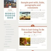 Fictive Simple Blogger Templates