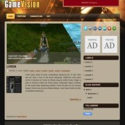 Game Vision Blogger Templates