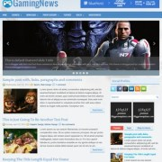 GamingNews Blogger Templates