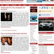 Groove Bordeaux Blogger Templates