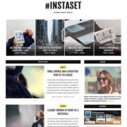 Instaset List Blogger Templates