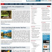 Just News Blogger Templates