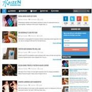Kaizen Awesome Magz Blogger Templates