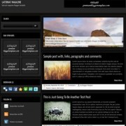 Laternat Magazine Blogger Templates