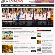 LatestNews Blogger Templates