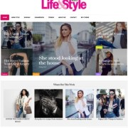 Life and Style Blogger Templates