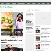 Max Mag Blogger Templates