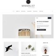 Minimalist Clean Blogger Templates