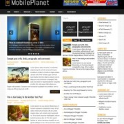 MobilePlanet Blogger Templates