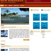 New Bordeaux Blogger Templates