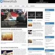 NewsHub Blogger Templates