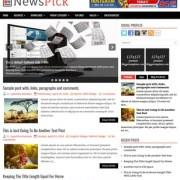 NewsPick Blogger Templates