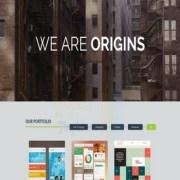 Origins Responsive Blogger Templates