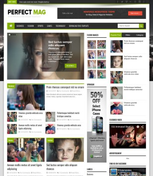 Perfect Mag Blogger Templates