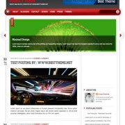 Reezy Mag Blogger Templates