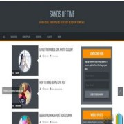 Sands of Time Responsive Blogger Templates