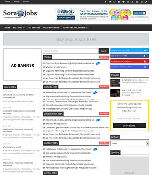 Sora Jobs Blogger Templates