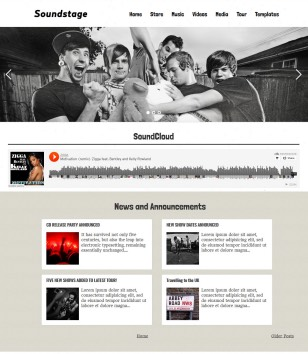 Soundstage Blogger Templates