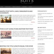 Suits Blogger Templates