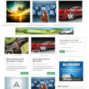 Tedly Responsive Blogger Templates