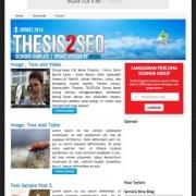 Thesis2 Seo Blogger Templates