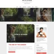 Wilder Blogger Templates