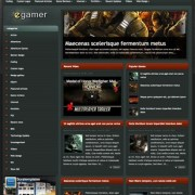 eGamer Blogger Templates