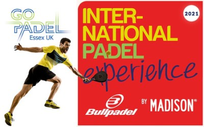 Once again Go Padel UK Will hold the International Padel Experience