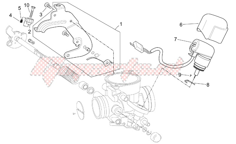 OEM parts Aprilia [Scooter] Scarabeo 125-150-200 (eng